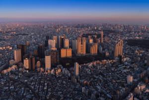 西新宿 夕景